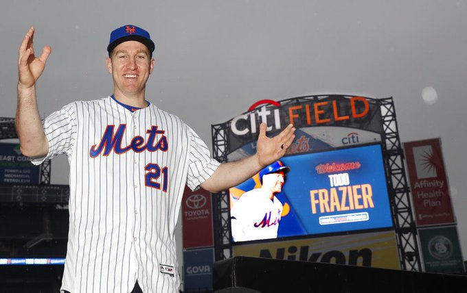 HAPPY BIRTHDAY to (I always knew I d be saying this someday) New York Met Todd Frazier!