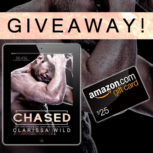 Release Blitz ♥ Chased by Clarissa Wild ♥ #giveaway $25 GC