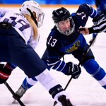 Finland's Valila oldest Olympic hockey woman at 44