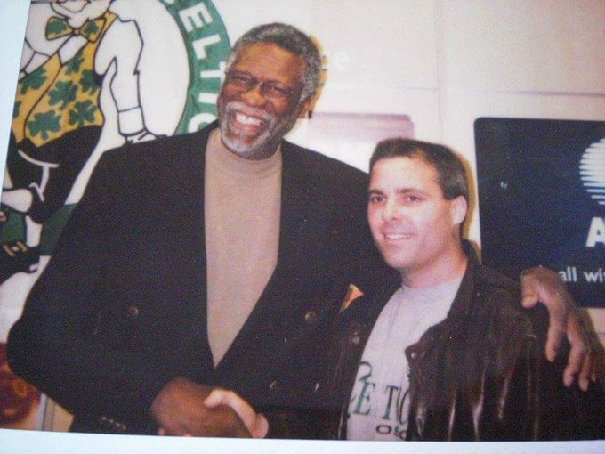 Happy 84th birthday to the winningest player in history Bill Russell