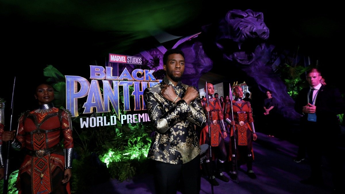 WATCH #BlackPantherChallenge raises thousands for kids to see upcoming movie https://t.co/s1aM0K6tUn via ReutersTV https://t.co/nahDIv1M1e