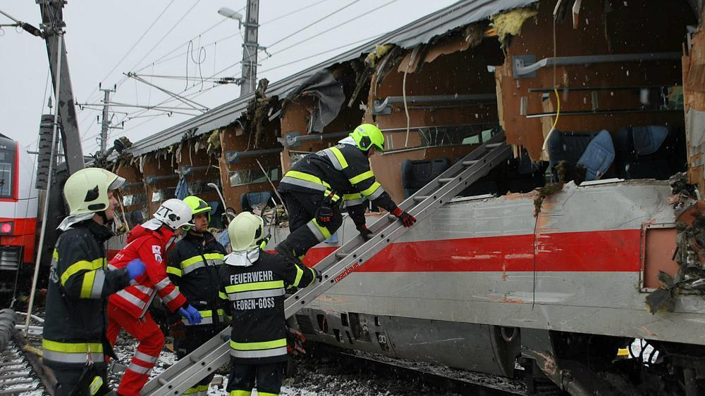 Austria train collision kills one, injures 22 others