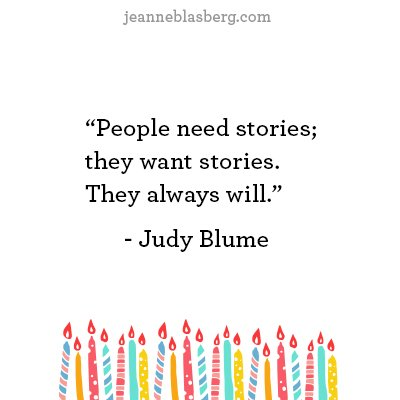 Happy Birthday Judy Blume!