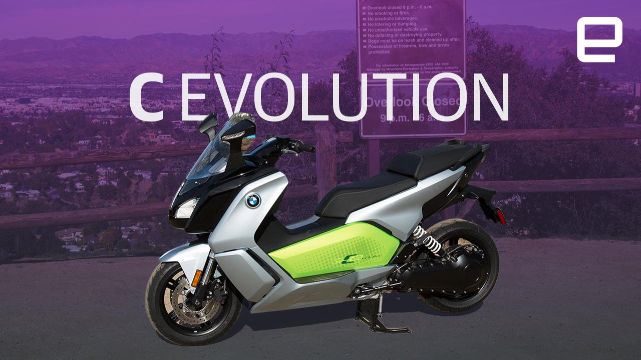 BMW's C evolution squeezes EV technology into a scooter: https://t.co/QvKxo7AHnG https://t.co/NymoLN0Th7