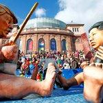 FOTOS: Las carrozas del carnaval alemán que ridiculizan a los líderes mundiales