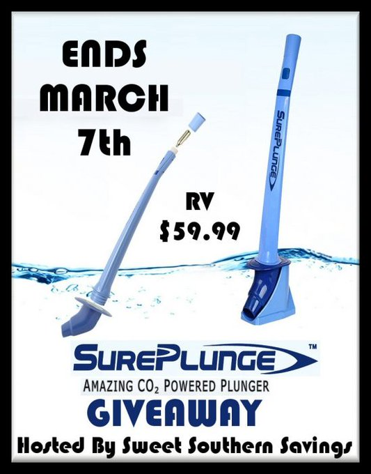 SurePlunge Powered Lunger Giveaway