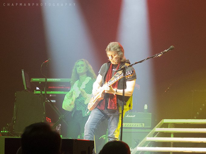 Happy birthday to Mr.Steve Hackett. Hope you\re having a great day.