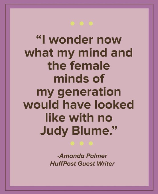 Happy birthday Judy Blume! What was your favorite book authored by Judy?!