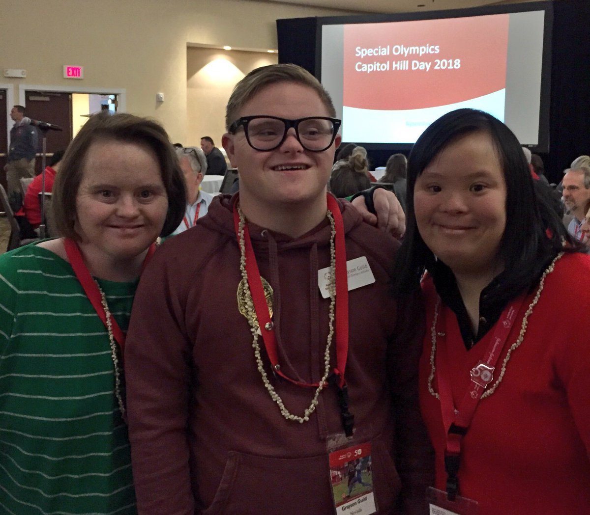 We're in DC this week advocating for @SpecialOlympics to our local government reps & raising awareness to the power of inclusion.   Our delegation includes SONV Athlete Grayson with @SONorCal Athletes Lindsay & Stephanie. #SOHillDay https://t.co/KoEggAzgfo