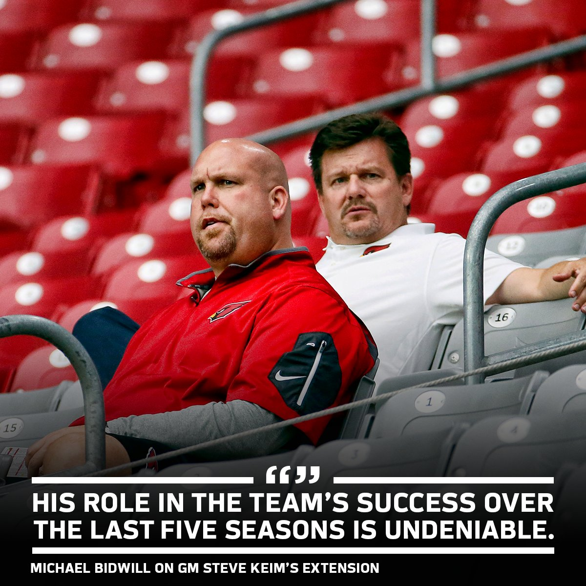 We have a .619 winning percentage with Steve Keim as our GM. That ranks seventh in the NFL in that time. https://t.co/590RcX1ukP