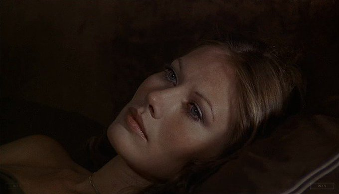 Happy Birthday to Maud Adams who\s now 73 years old. Do you remember this movie? 5 min to answer!