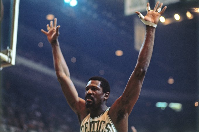 Happy 84th Birthday to the LEGEND Bill Russell
