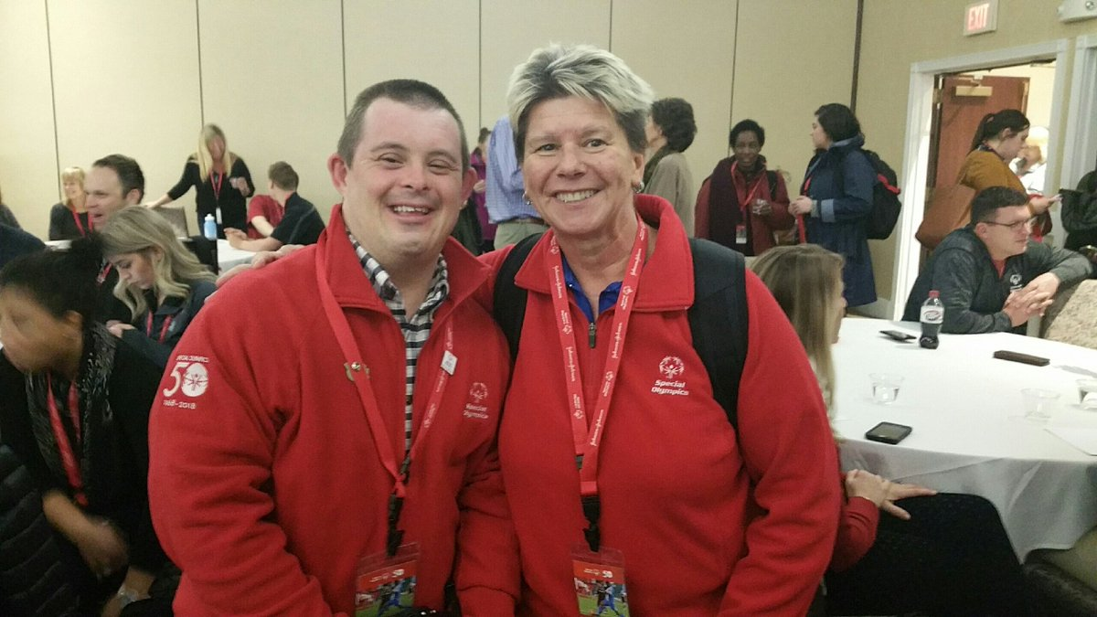 Our very own Matthew Drumright is in Washington, DC preparing for his presentation to represent @SOTennessee by advocating for those with intellectual disabilities. #SOHillDay https://t.co/S6ojvNxA04