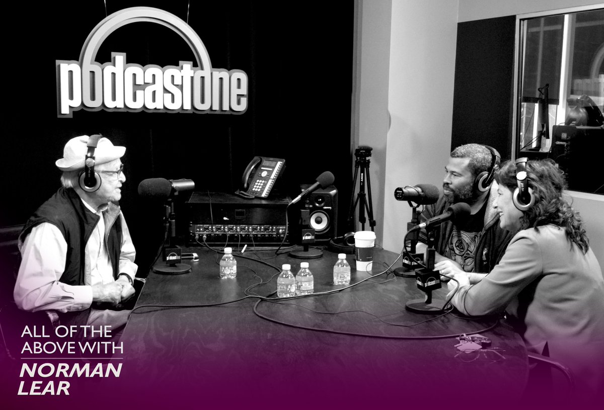 .@JordanPeele, one of my favorite people responsible for @GETOUTmovie, one of my most favorite films of all time. With surprise special guest, Catherine Keener, the hypnotizing star of the film. Listen Now: https://t.co/hqAQUjdPZO https://t.co/YmaPU6oTzh