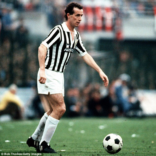 Happy birthday to former Juventus midfielder Liam Brady, who turns 62 today.  Games: 76 Goals: 15 : 2