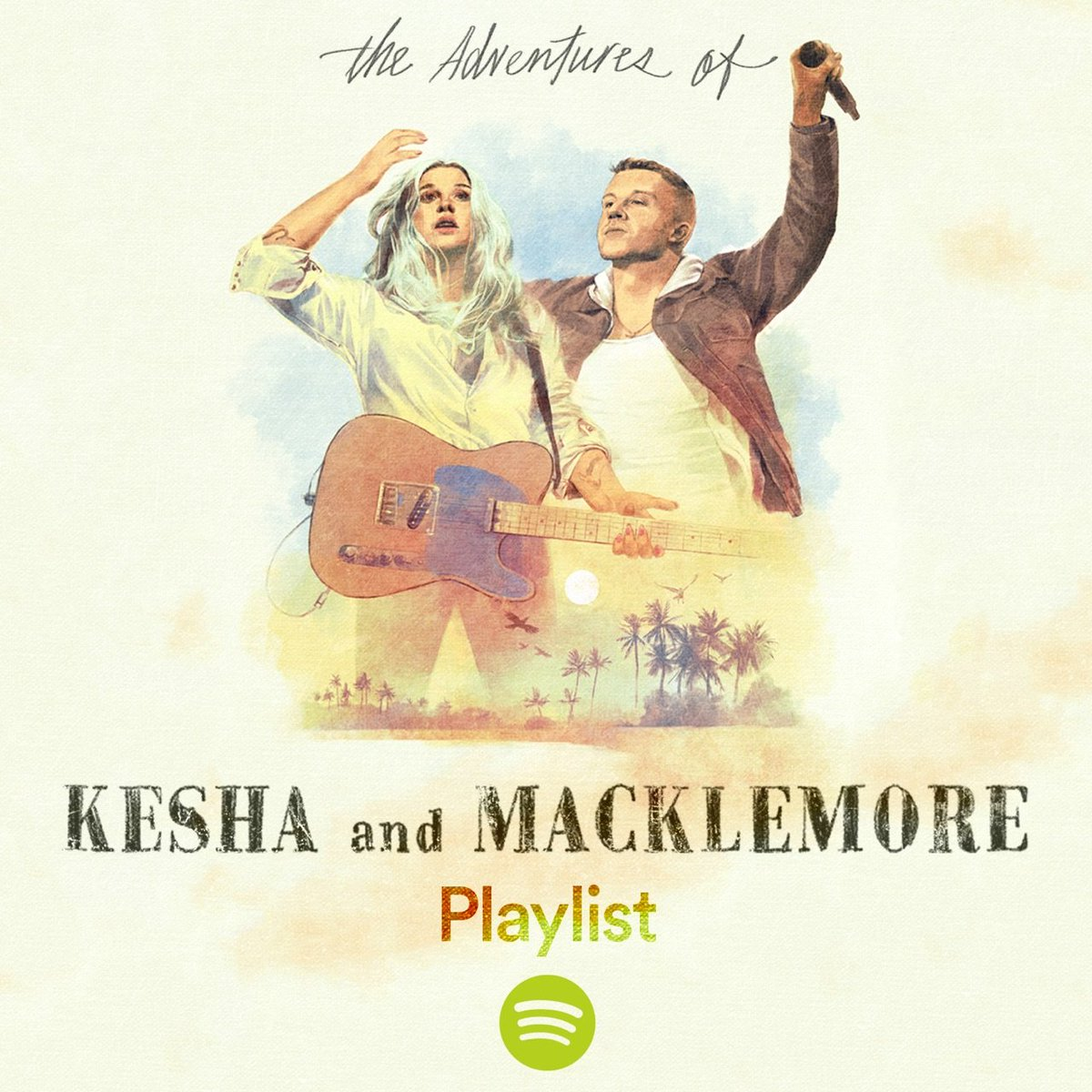 Listen to The Adventures of @KeshaRose and Macklemore Tour playlist on @Spotify https://t.co/nD30CjMpyH https://t.co/vCpXGYl4yu