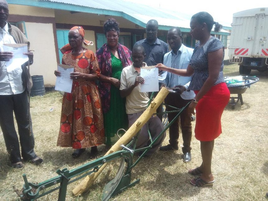 People with disability get Sh900,000 equipment