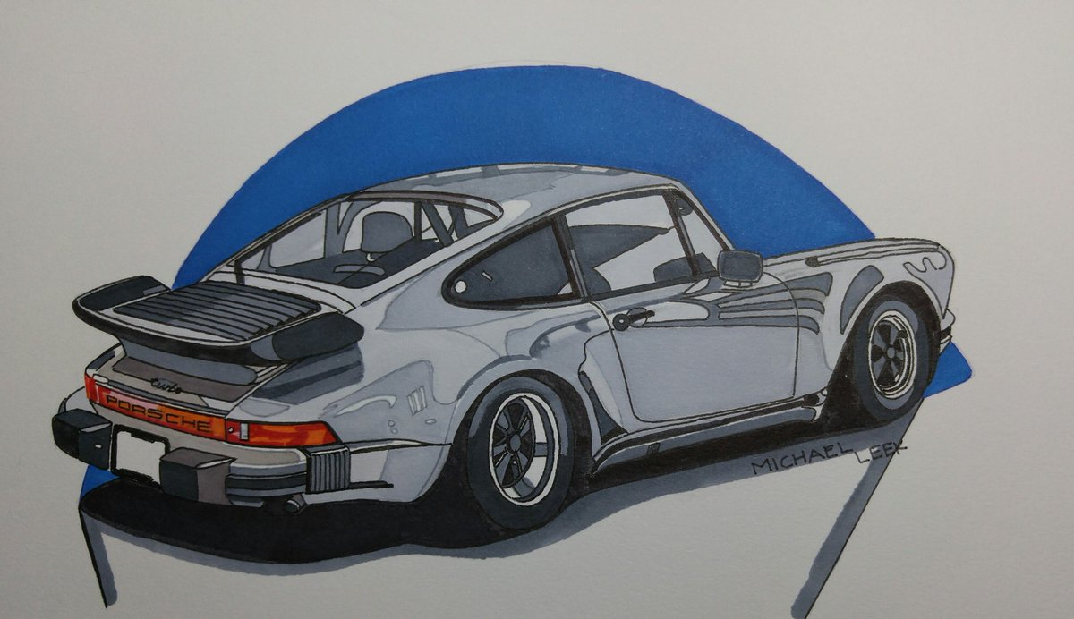RT @MichaelLeek1: #Happy #TurboTuesday #1979 #Porsche911turbo #drawing https://t.co/24IKttiHGe