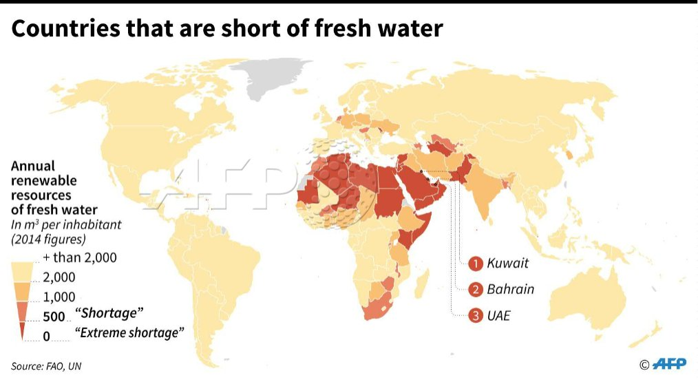 Map showing countries around the world that have fresh water map showing countries around the world that have fresh water shortages based on renewable resources of gumiabroncs Image collections
