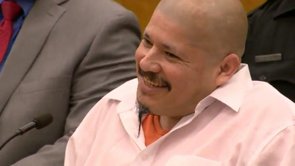 'Yay:' Man in US illegally reacts after being found guilty of killing 2 deputies