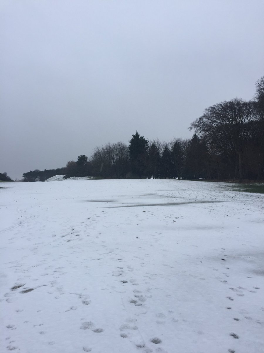 test Twitter Media - Course still covered and forecast for more snow to come . https://t.co/iodWYum6bn