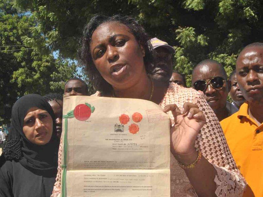 Jumwa puts Malindi land grabbers on notice after demolitions