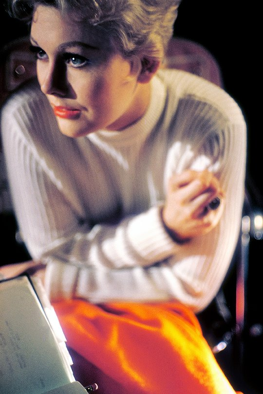 Happy birthday to Kim Novak. Photo by Bob Willoughby, 1955.
