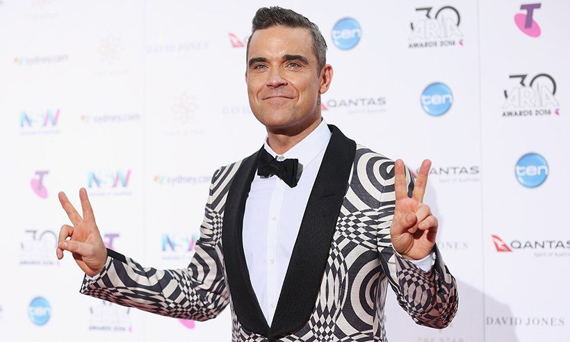A big Hello Party Happy Birthday to one of our favourite entertainers Robbie Williams! Born on this day in 1974!