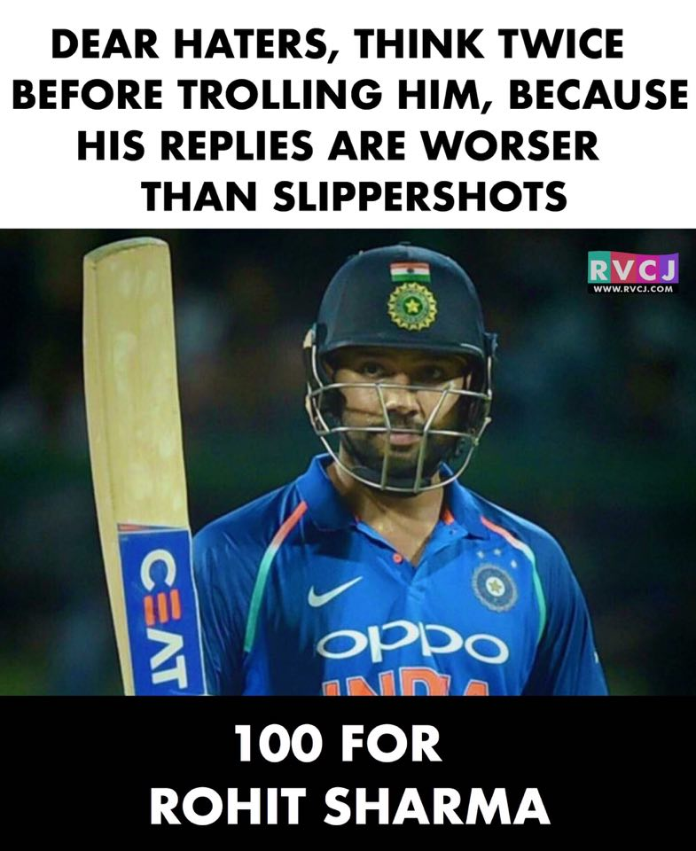 RVCJ_FB rohit sharma