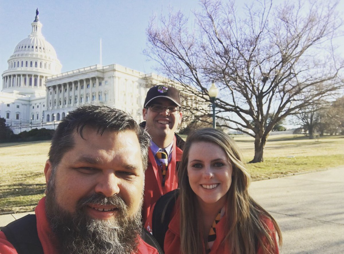 On the hill today with @ACanuckAmok, @SportsSODude, & more of the @SpOlympicsMD crew advocating for the impactful programs that @SpecialOlympics offers to help create an inclusive world! #SOHillDay https://t.co/JElp5iYA6p