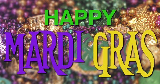 Happy Mardi Gras! https://t.co/y92ZVnq9Ct https://t.co/0WJU8FAN0D