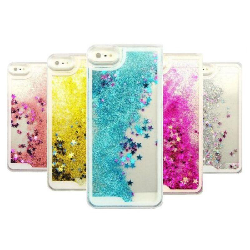Dynamic Glitter Stars Liquid Case For iPhone 5 5S SE 6 6S 7 Plus Case Coque F...