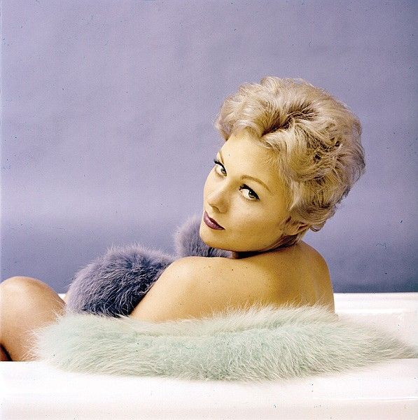 Kim Novak. [ Milton Greene, 1955]  Happy 85th birthday.