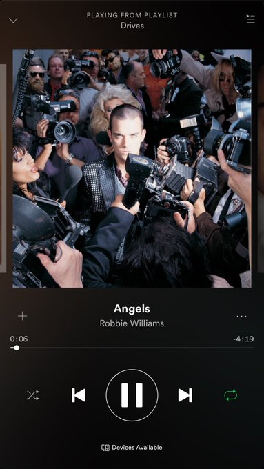 Happy Birthday to this beautiful creation that is Robbie Williams, without whom this song wouldn\t exist