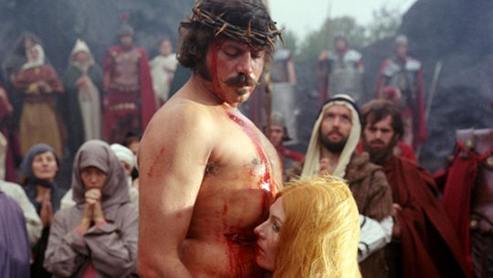Happy birthday, Oliver Reed.   What a beautiful man.