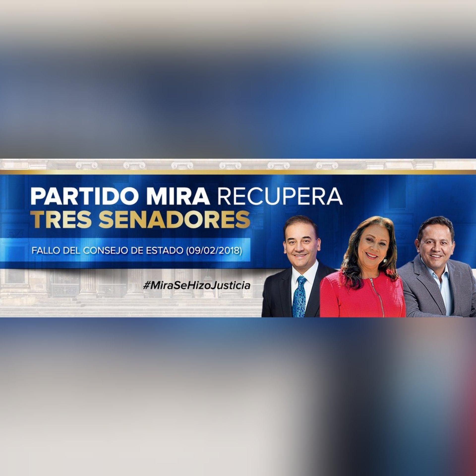 #MiraSeHizoJusticia la dignidad vale más que el dinero.gran ejemplo de los 3 senadores para Colombia al No cobrar sus salarios. Con MIRA ganamos todos apoyemos sus candidatos este 11de marzo. Se ha demostrado transparencia y principios con @MovimientoMIRA . https://t.co/ItQvT7AKYQ