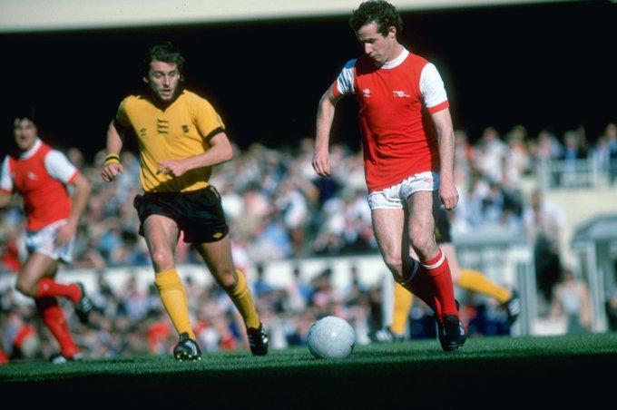 Happy birthday to Arsenal legend Liam Brady!