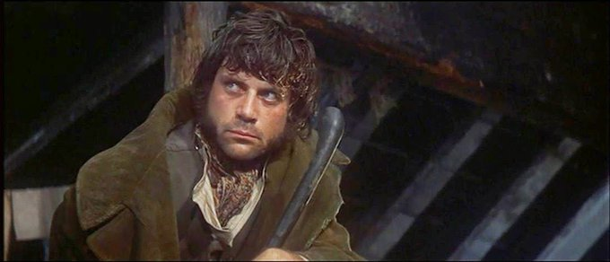 "Happy birthday to Oliver Reed, my first ""well, sure, he\s a homicidal brute but.\"""