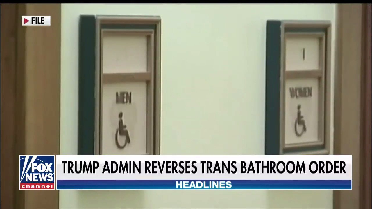 WINNING: Trump administration reverses the transbathroom order! https://t.co/2pVtbo8xQ4