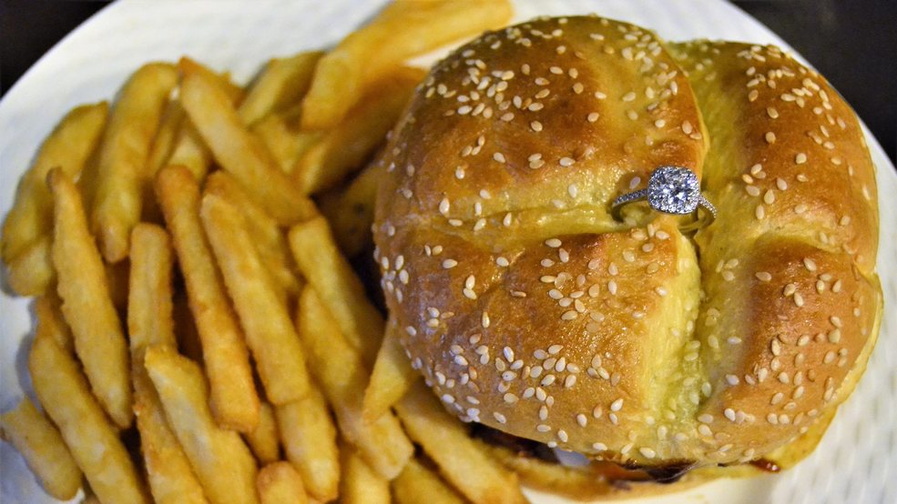 Boston restaurant offers $3K burger with engagement ring