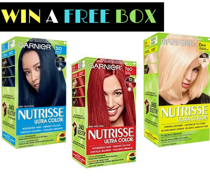 How to Get a FREE Box of Garnier Nutrisse Hair Color