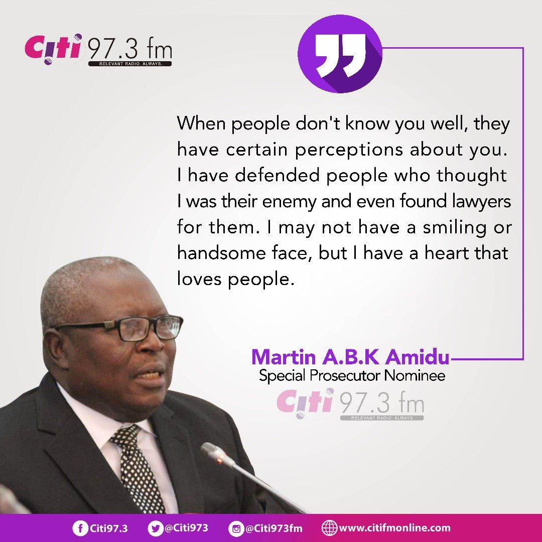 State Asset  Martin Amidu to g martin amidu
