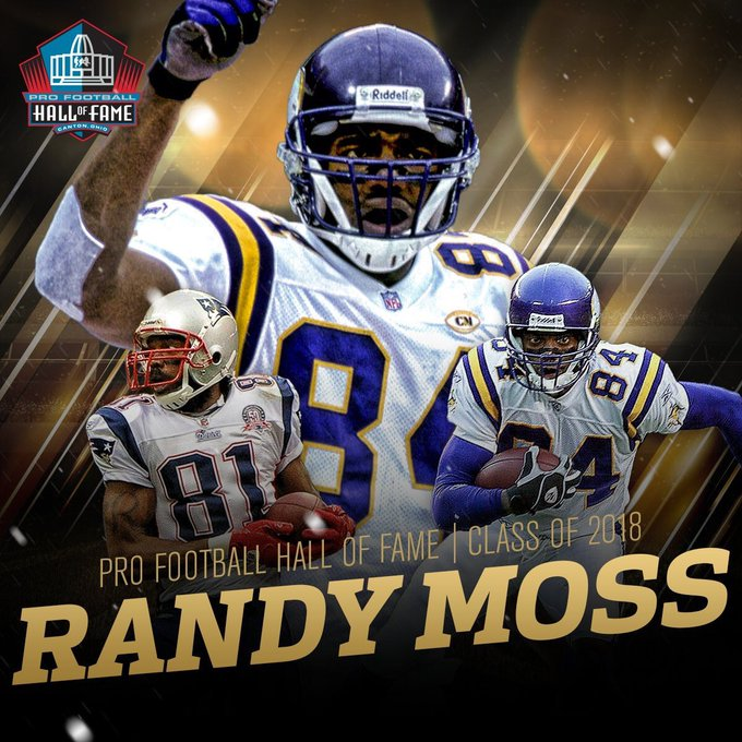HAPPY BIRTHDAY TO THE GREATEST NFL WIDE RECEIVER OF ALL TIME......THE RANDY MOSS