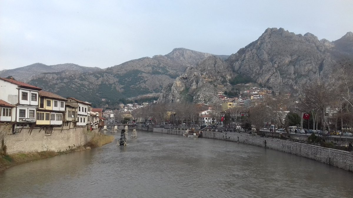 Half day off, visiting Amasya and having rest !