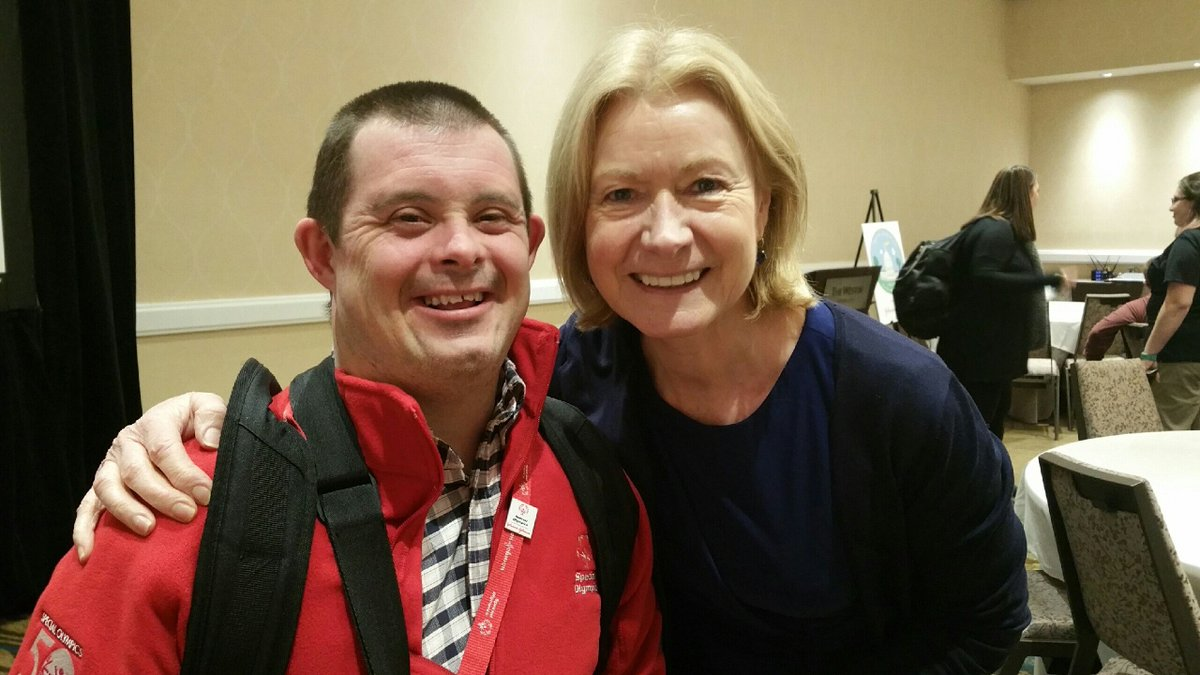 Global Messenger Matthew Drumright has a busy schedule today advocating at our Nations Capital for @SpecialOlympics and the athletes we serve. CEO Mary Davis provided encouragement & support for the athletes promoting services for those with intellectual disabilities. #SOHillDay https://t.co/JGU2Vc62cG