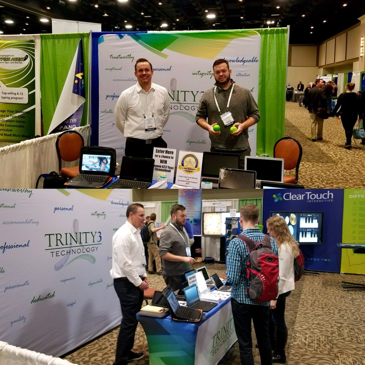 It's the last day of #pete2018! Be sure to say hi to the team at booth #644 and learn about what makes #trinity3 different! https://t.co/yAb40UEDlv