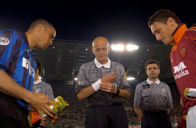 Happy Birthday to Pierluigi Collina, the greatest referee in history