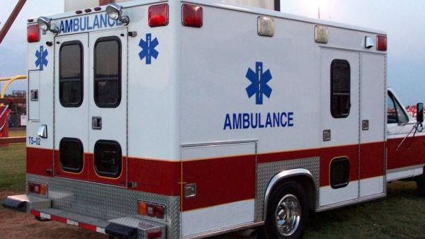 Snowmobilers hospitalized after crashing into dumpster near Sheldon