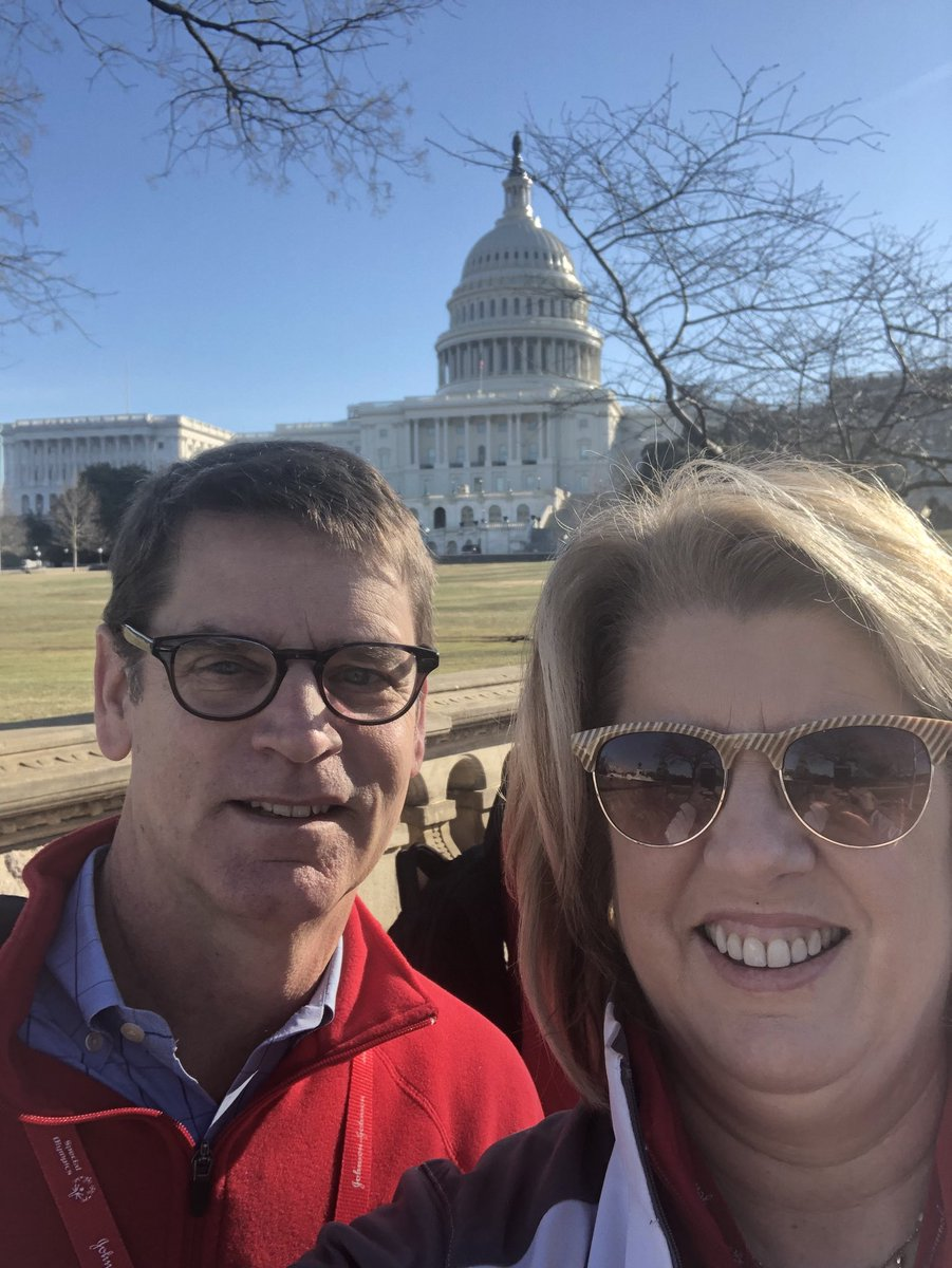 #2018USAGames and @SO_Washington CEO's, @BethKnox32 and Dave Lenox on their way to Capitol Hill for #SOHillDay! https://t.co/TpVzI2pWXo