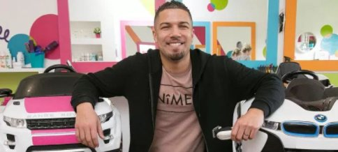 Dad-of-two who quit banking job to set up children's hairdressers now makes £650k a year